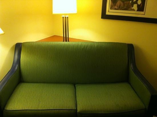 Fairfield Inn & Suites by Marriott Newark Liberty International Airport: Sofa in room