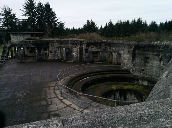 Fort Stevens State Park: Battery Russell-modern day
