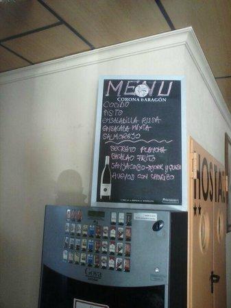 El Cruce: menu