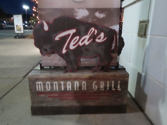 Ted's Montana Grill: sign