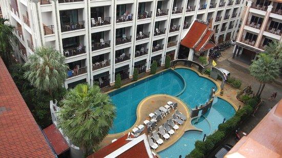 Amata Patong: Blick vom Balkon