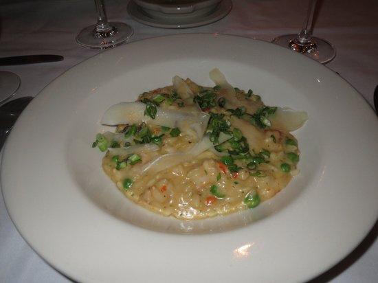 Nana's Restaurant: Risotto with white shrimp