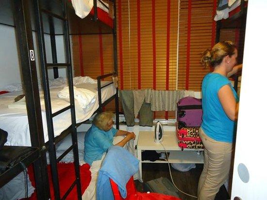 Ocean Blue Hostel : Habitación 2