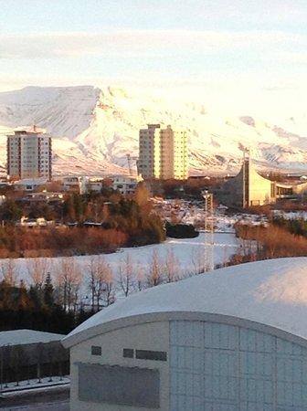 Reykjavik Lights by Keahotels : Vue de notre chambre du 6è étage
