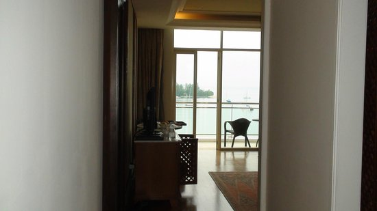 The Danna Langkawi: View from the our room entrance