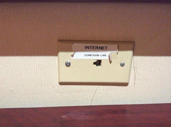 Quality Inn & Suites Saltillo Eurotel: Hay WiFi y conexión alámbrada Ethernet