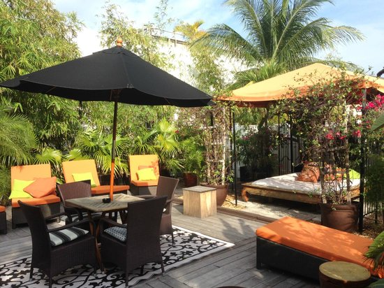 Chesterfield Hotel : Penthouse Outdoor Area