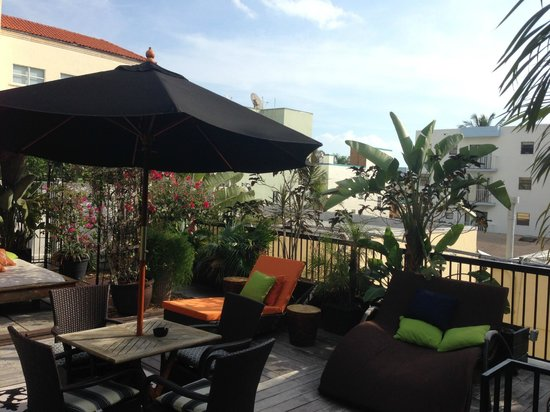 Chesterfield Hotel : Penthouse Outdoor Space