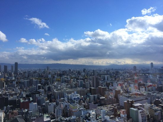 Swissotel Nankai Osaka : View from the room
