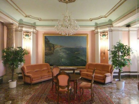Hotel Schloss Grubhof: lobby area