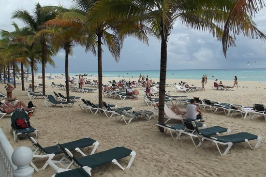 playa privada - Picture of Hotel Riu Lupita, Playa del