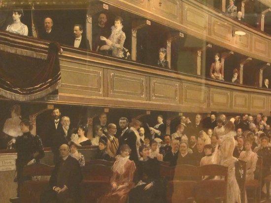 Vienna Museum: Климт. Интерьер старого театра (фрагмент)