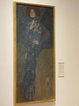 Vienna Museum: Климт. Портрет Эмилии Флёге