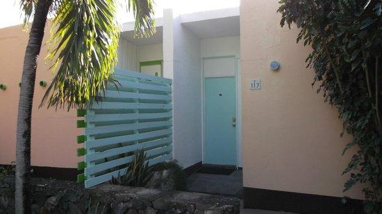 Pavilions and Pools Villa Hotel: door to Villa 107