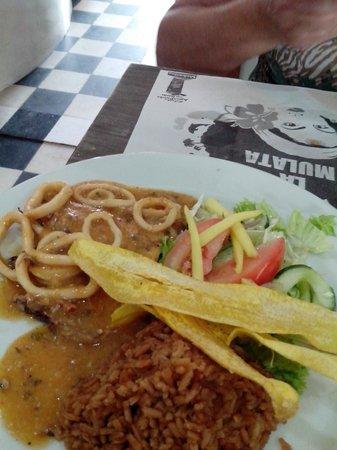 La Mulata: almoço