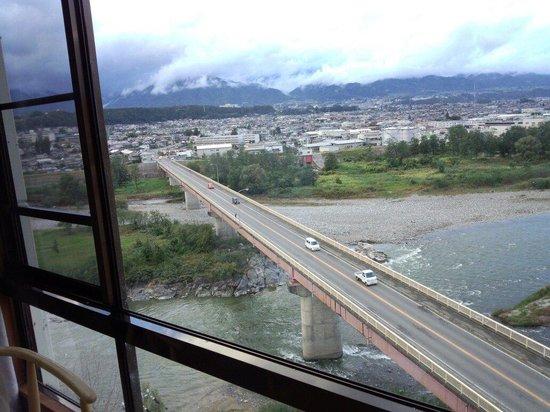 Yoshinotei : 部屋からの眺め最高