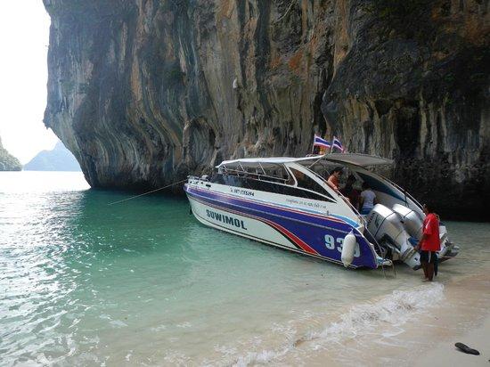 Phuket Sail Tours: Phuket Sail tour Speedboat