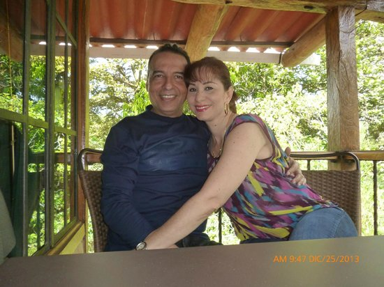 Casa Di Pietra: EN EL BALCON DE LA HABITACION