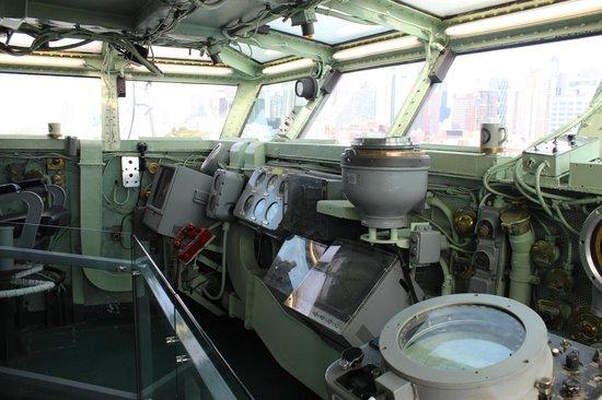 Intrepid Sea, Air & Space Museum : Ponte de comando do Intrepid