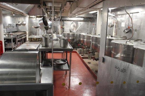 Intrepid Sea, Air & Space Museum : Cozinha do Intrepid