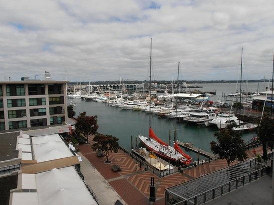 The Sebel Auckland Viaduct Harbour: View from 4th Floor one bedroom harbour view