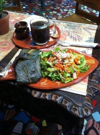 Sativa Studio Cafe: Tamales