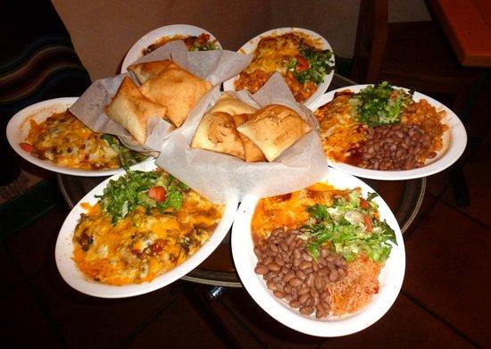 Teofilos Restaurante Los Lunas Menu