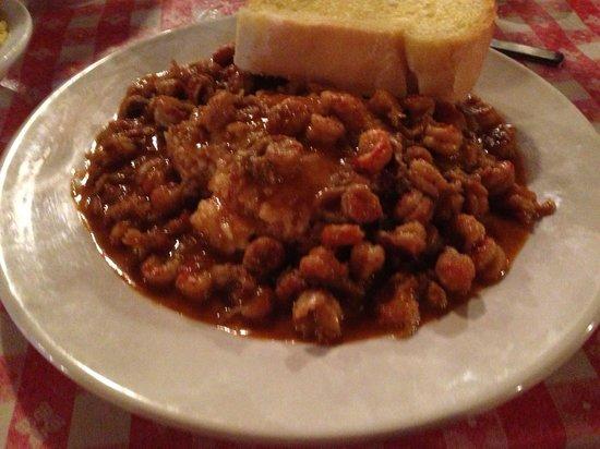 Pont Breaux's Cajun Restaurant: Crawfish étouffée