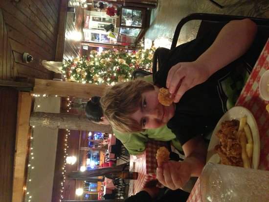 Pont Breaux's Cajun Restaurant: Fried shrimp