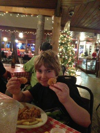 Pont Breaux's Cajun Restaurant: Fried shrimp