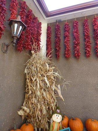 Rancho de Chimayo Restaurante: Chimayo chile ristras