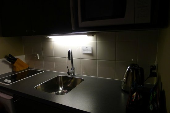 Airport Delta Motel: Kitchenette