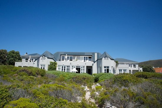 Ocean Eleven Guesthouse : The lodge from the nearby bluff trail