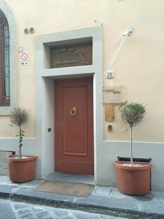Entrance to Firenze Suite
