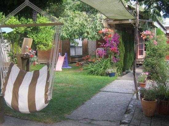 Annie's Nirvana Lodge: back garden again!