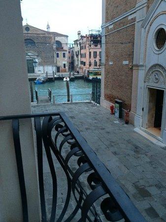 Ca' San Giorgio: Partial view of the Grand Canal