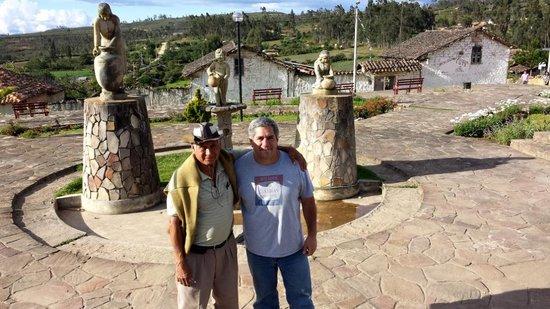 Hostal Nunurco Travellers: Con Eusebio