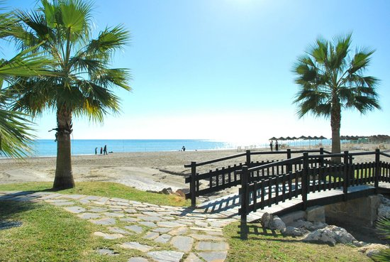 Gran Cervantes by Blue Sea: Beach which is 10 minutes walk