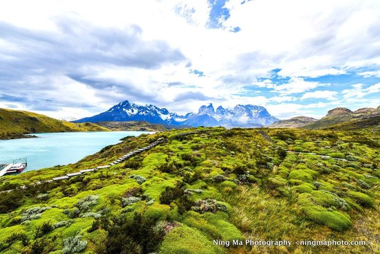 Explora Patagonia - All Inclusive : From the front stairs