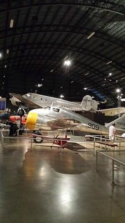 National Museum of the U.S. Air Force: One of many small planes on exhibit