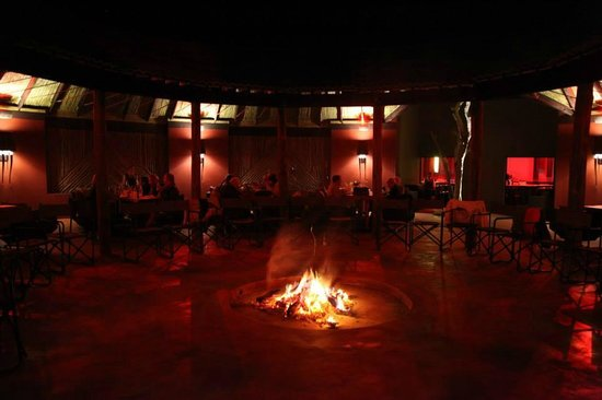 Palala Boutique Game Lodge and Spa: The lapa