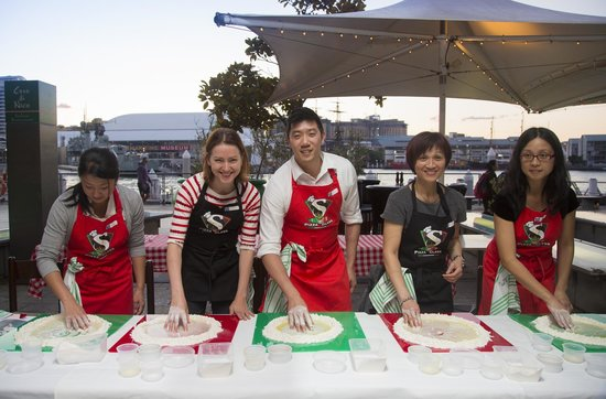 Casa di Nico: Pizza Making Classes in action