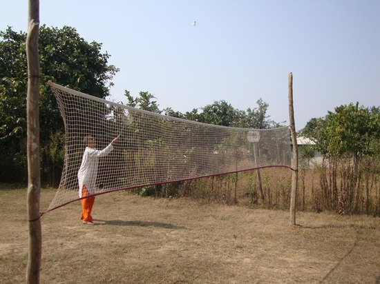 Muba's Machaan: Playing badminton at muba premises