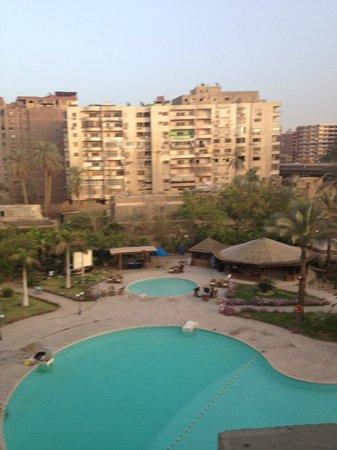 Grand Pyramids Hotel: view