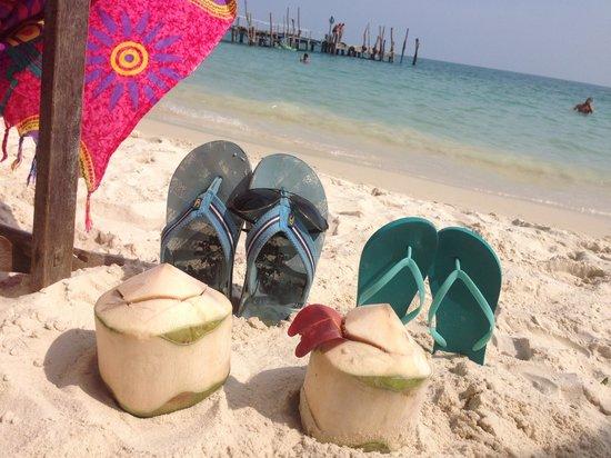 Tarn Tawan Resort Ao Cho : Пляж