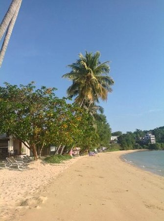 Crowne Plaza Phuket Panwa Beach: veiw on the beach