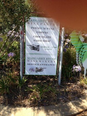 Margaret River Winemakers: Your greeting sign