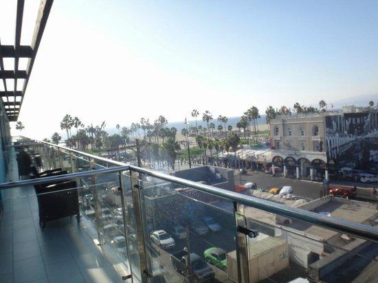 Hotel Erwin: バルコニーがの眺め