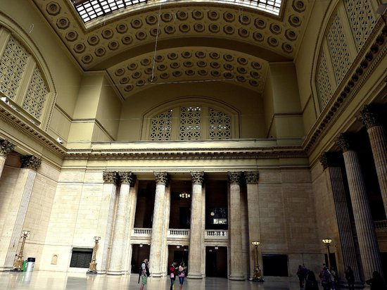 Union Station: the space makes me want to don a ballgown