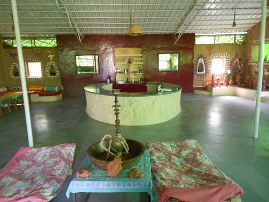 Mirvana Nature Resort and Camp: RAJASTHANI DIN ING